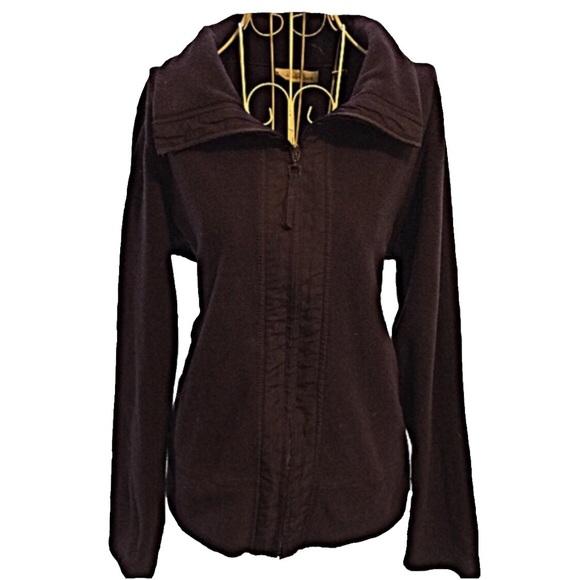 COLDWATER CREEK | Women's Zip Up Fleece Size Small